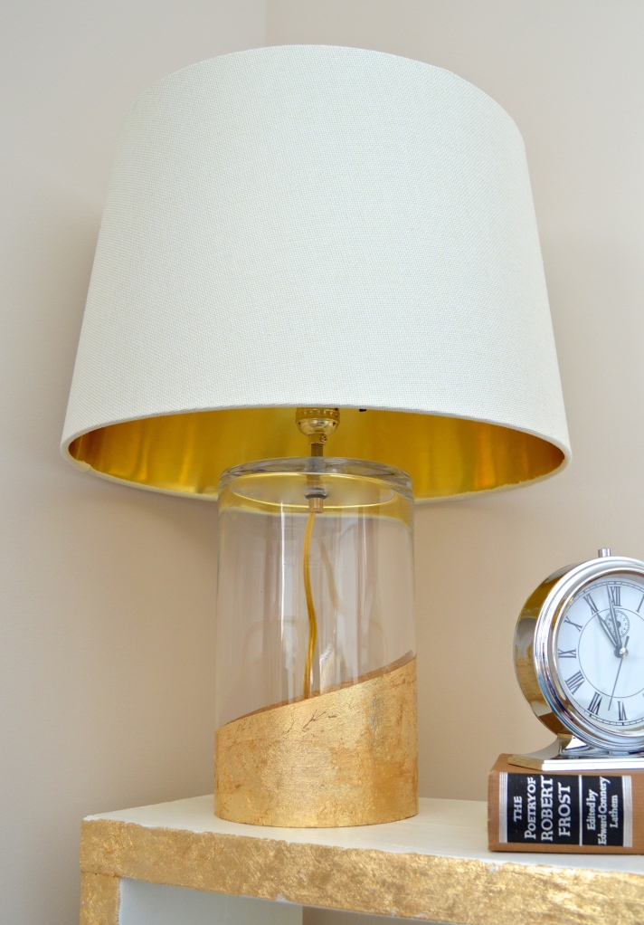 Gold Dipped Lamp