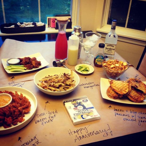 anniversary dinner