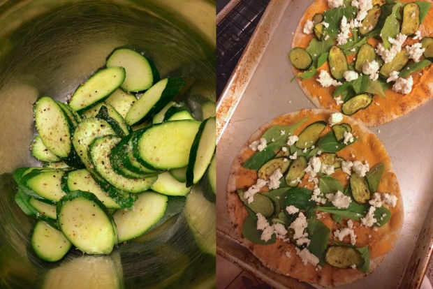 Squash Flatbreads How To