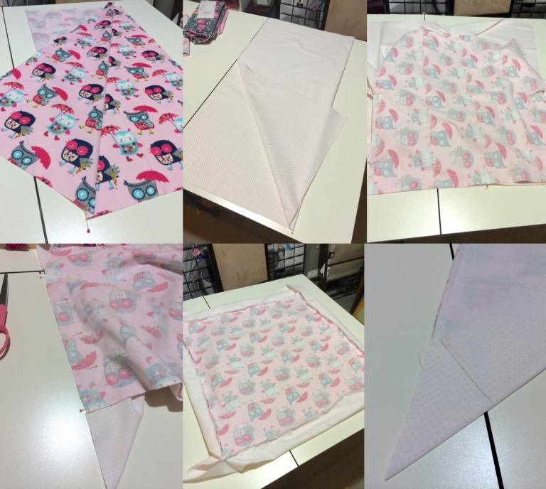 Self Binding Blanket How To