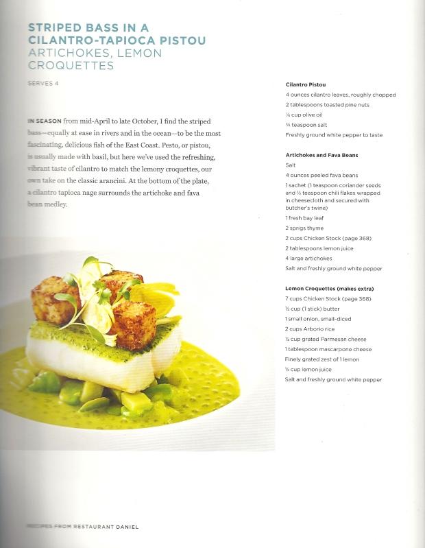 Boulud Recipe Page 1