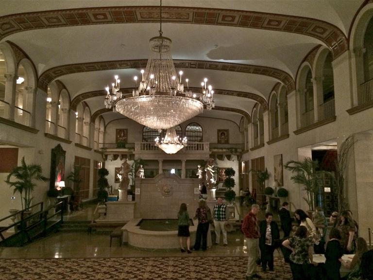 Statler Hotel Lobby