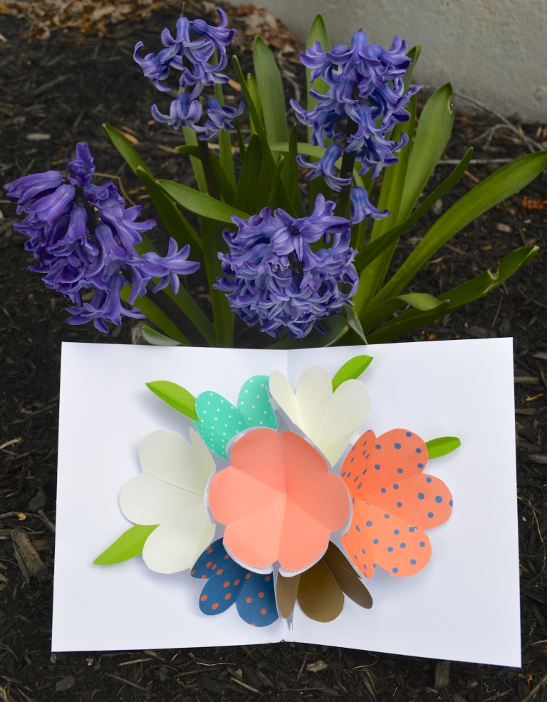 Pop Up Flower Cards