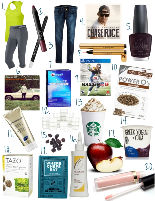 August Fave Things