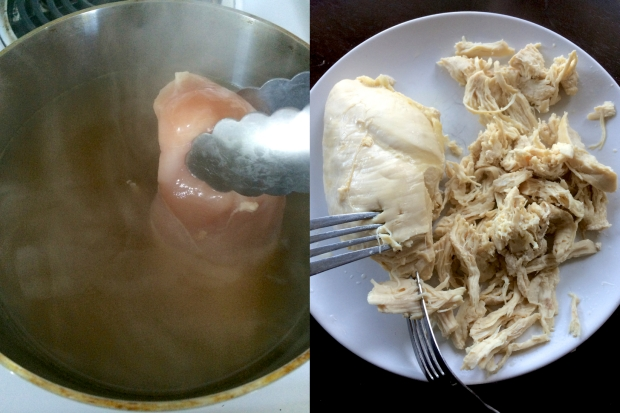 Lemon Chicken + Orzo Soup