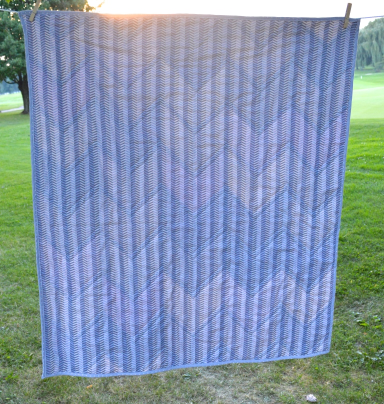 Back View of Quilt