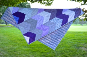 Both sides of quilt