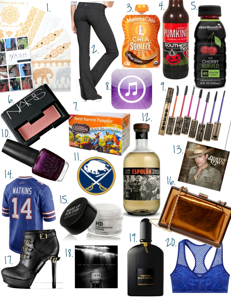 Fave Things September