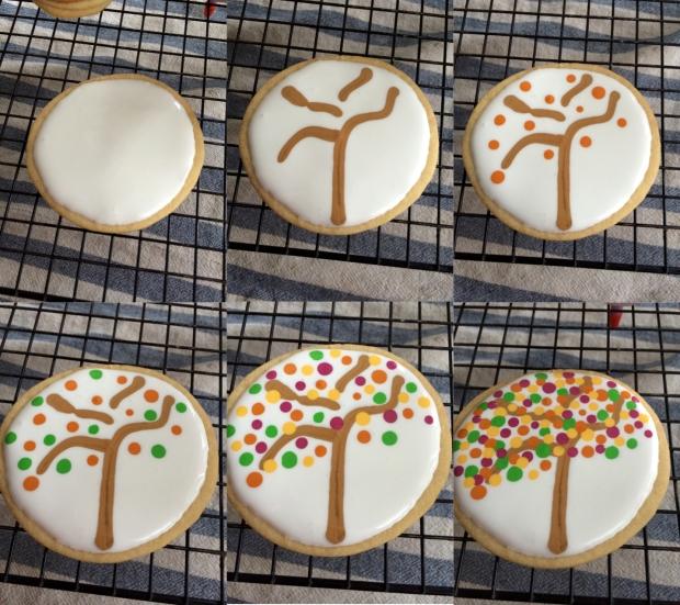 Tree Cookie Step by Step