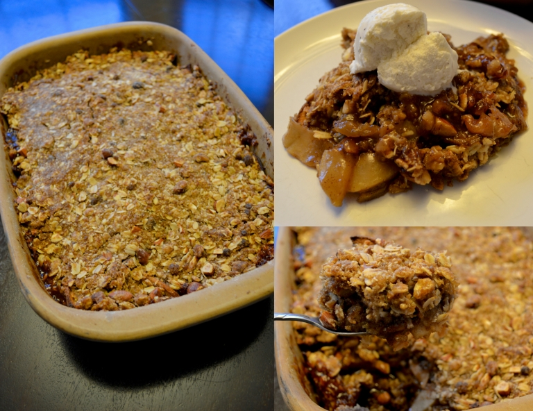 Browned Butter Apple Crisp