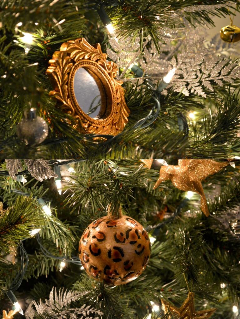 close up ornaments