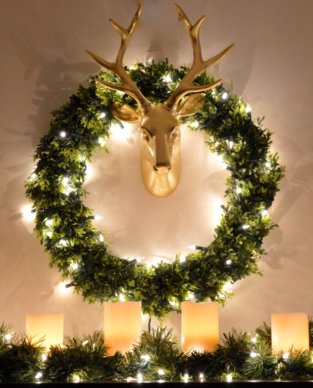 Candle and Wreaths