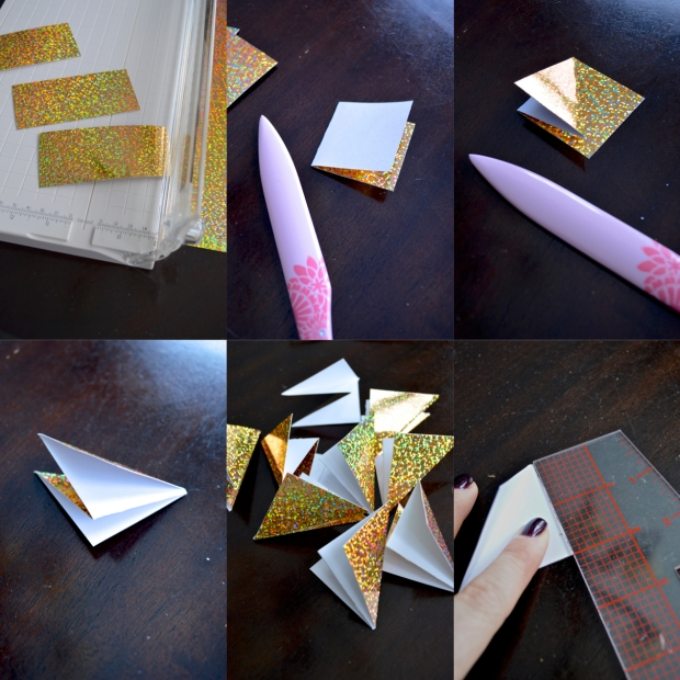 folding ornament pieces
