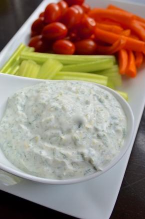 Greek Yogurt Dill Sauce
