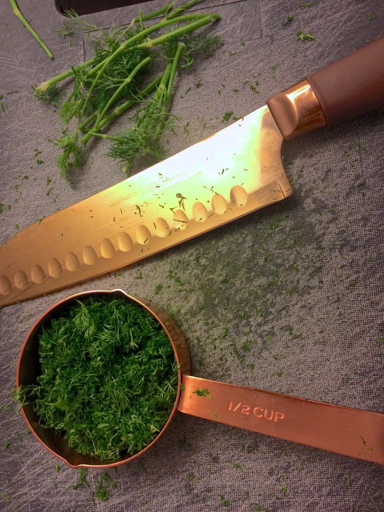 fresh chopped dill
