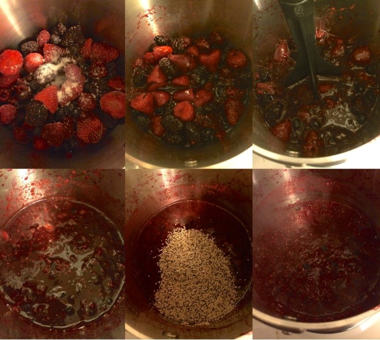 Triple Berry Jam How To