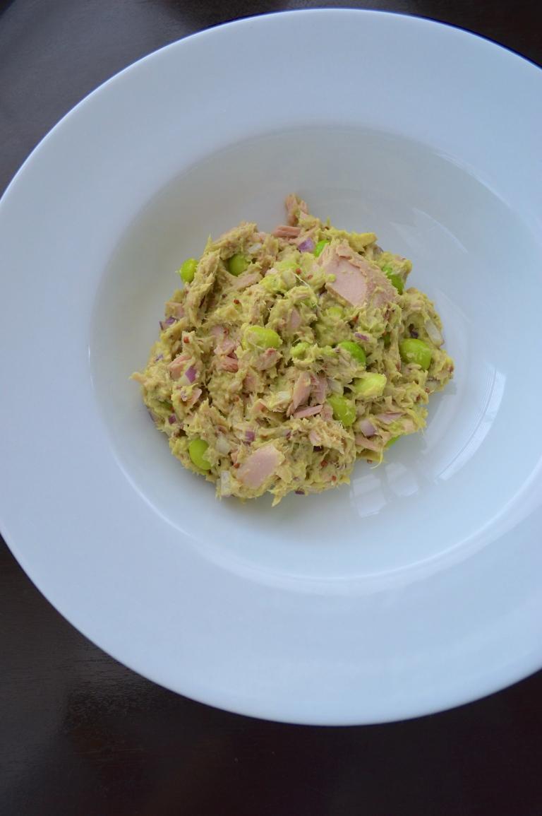 Edamame and Tuna Salad