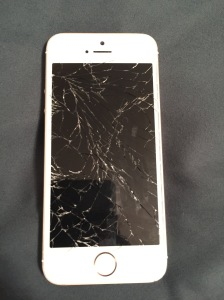 Shattered iPhone 4s