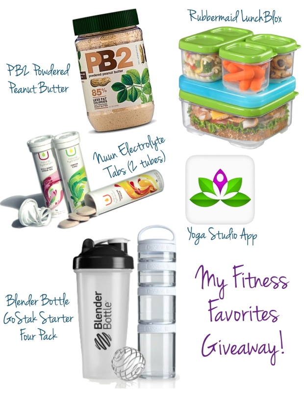 Fitness Faves Giveaway