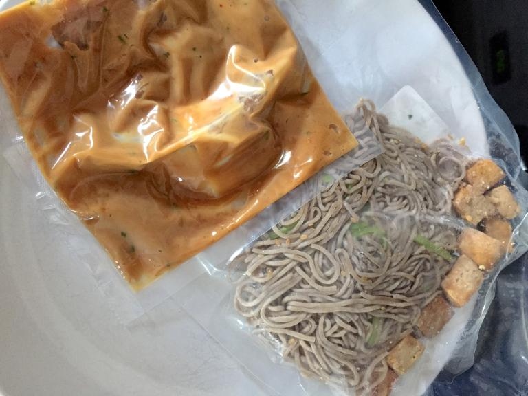 Defrosting Soba Noodles