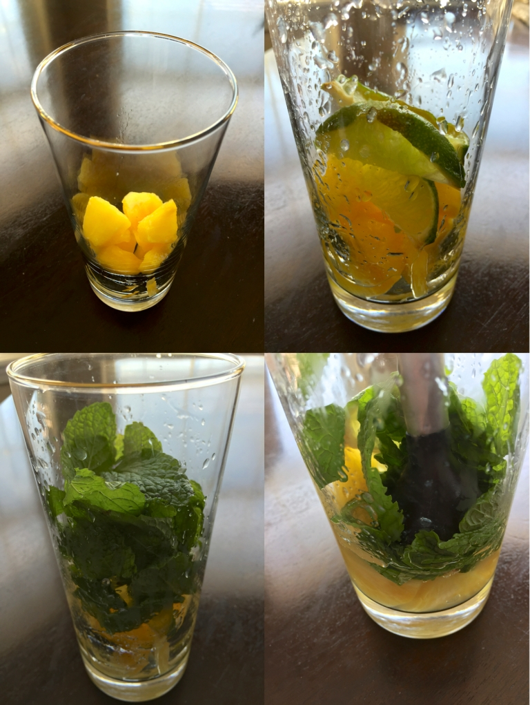 Muddling Mojito Ingredients