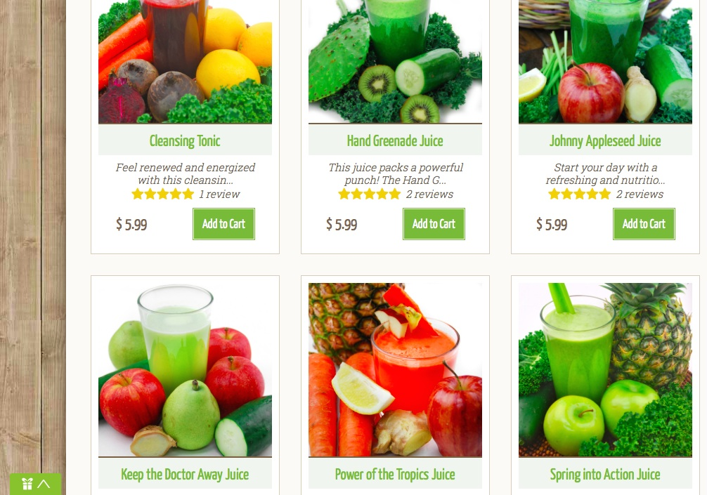 Veestro juice cleanse my first impressions after loading the juices into my online cart were that veestros site is very user friendly and i loved that they had all the nutrition malvernweather Choice Image
