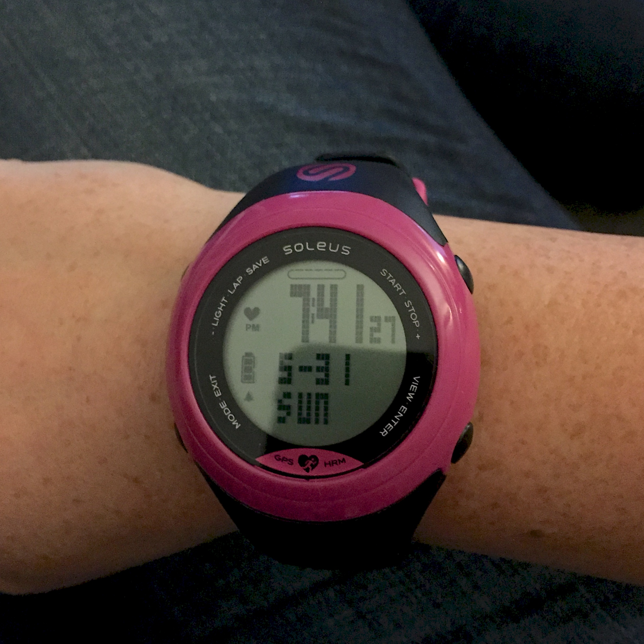 Watch with wrist hrm - Soleus Sole Hrm